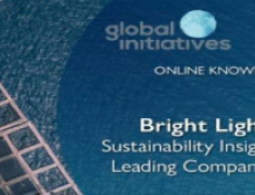 Global Reporting Initiative & Global Initiatives speaking opportunity